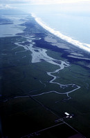 Aerial of mad river slough 1989