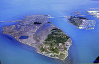 Aerial of indian island 1982