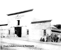 Frank Schulers Livery & Feed Stable Rio Dell, California