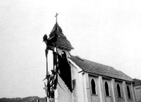Catholic Church Lightening strike Petrolia, California