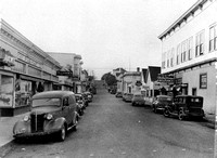 "Arcata street scene ""H"" street looking North Humboldt County California"
