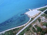 Aerial ofsomoa Boat Ramp Circa 1993