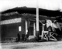 1906 Earthquake damage Ferndale, California