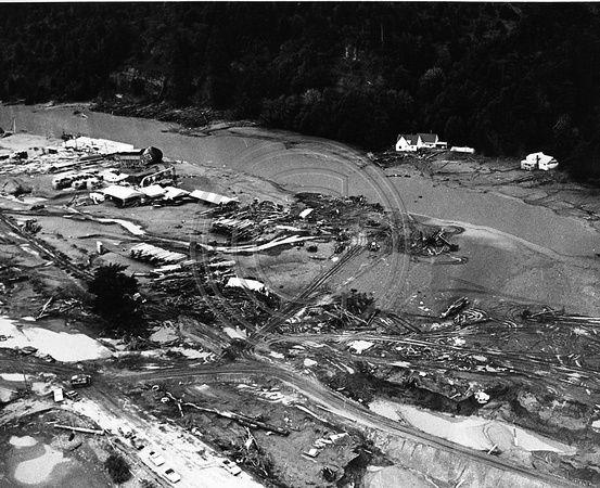 Eel River Sawmills after the 64 flood