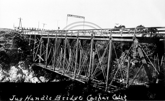 Jug Handle Bridge at Caspar California