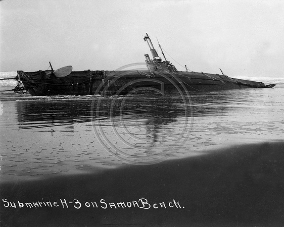 H-3 Submarine on Samoa Beach