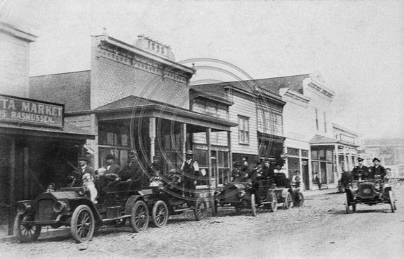 Main Street Loleta around 1910