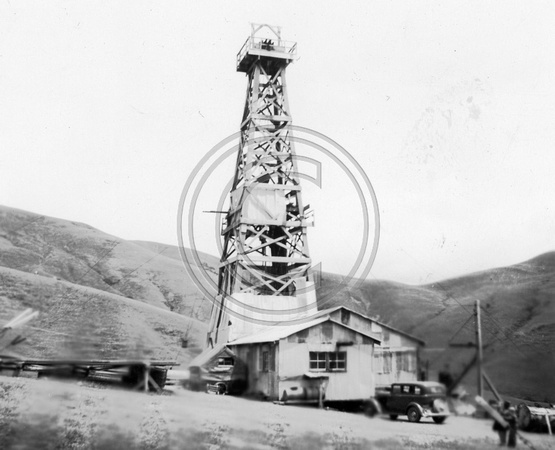 Oil Well in Petrolia