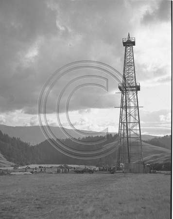 Petrolia Oil Well