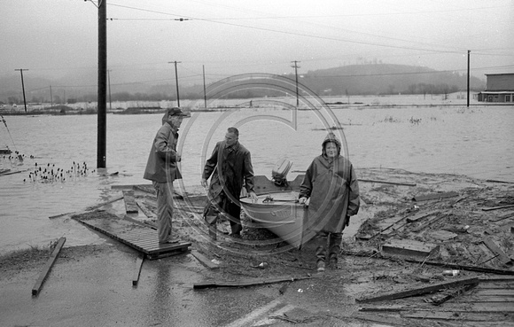Alton, California 1964 Flooding