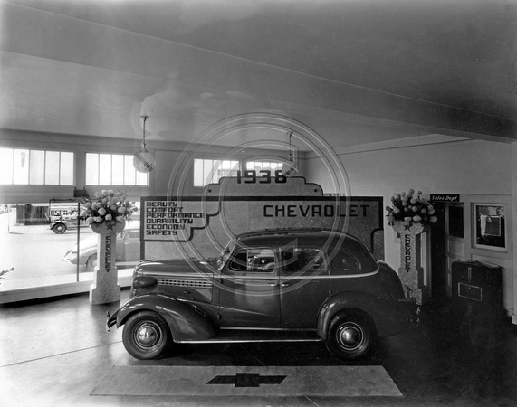 Chevrolet Dealership 1938