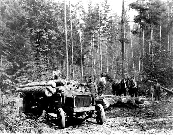 Early Logging Truck