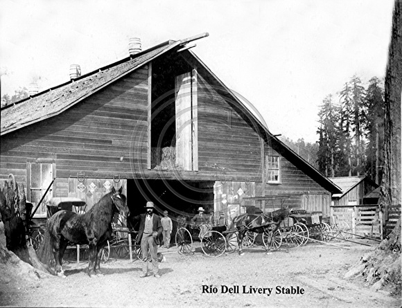 Rio Dell Livery Stable