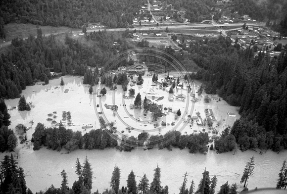 The Old Photo Guy 1964 Flood Of Humboldt County Aerial
