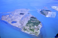 Aerial Photo of Indian Island Humboldt Bay 1982 SP