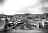 1870s view of Cripple Creel Colorado