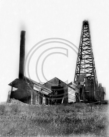 1st drilled oilwell Petrolia ca.